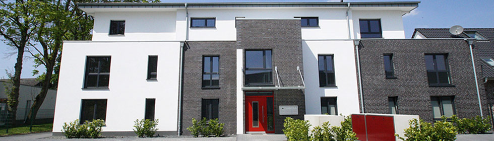 Neubau in Wevelinghoven Frontansicht